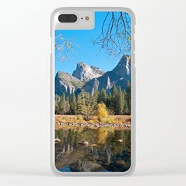 Valley View of Yosemite Clear iPhone Case
