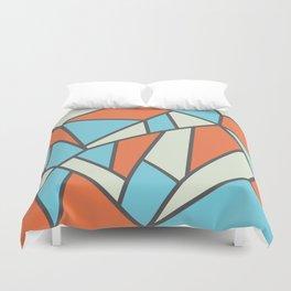 Geometric Colour Pattern V3 Duvet Cover