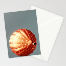 Strawberry hot air baloon Stationery Cards