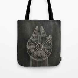Millennium Falcon Tote Bag