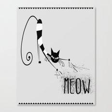Meow part 1 Canvas Print