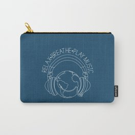 Relax. Breathe. Play Music Carry-All Pouch