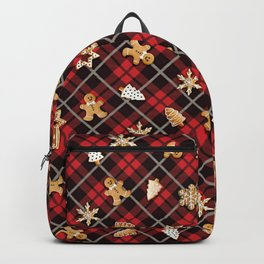 Gingerbread Red Backpack