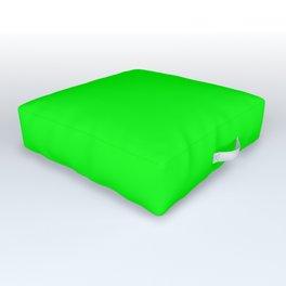 Lime Green Outdoor Floor Cushion
