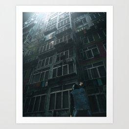 MUTED (everyday 01.17.18) Art Print