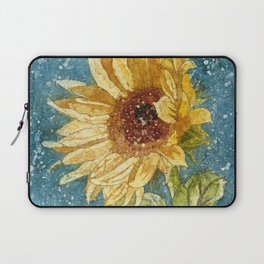 Sunflower Painting, Watercolor Sunflower, Sunflower Art,Sunflower Wall Art Laptop Sleeve