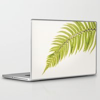 sword Laptop & iPad Skins featuring Sword Fern by Paul Edmondson