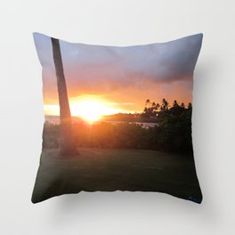 Sunset #2 Throw Pillow