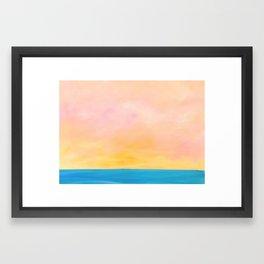 Sunset Series (i) Framed Art Print