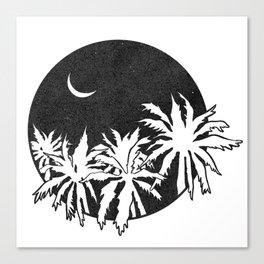 Vagabond Palm Canvas Print