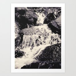 Waterfall 2, Colorado Art Print