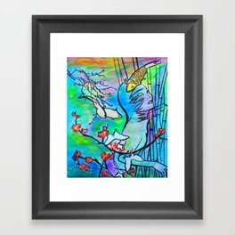 Let Dreams Come #society6 #decor #buyart Framed Art Print
