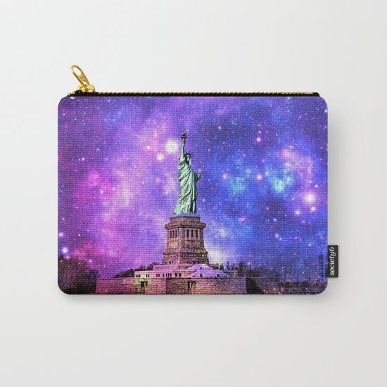 space Statue of Liberty Carry-All Pouch