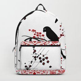"A series of "" Favorite pillow ""Parrots 1 Backpack"