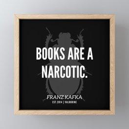 14  |  Franz Kafka Quotes | 190517 Framed Mini Art Print