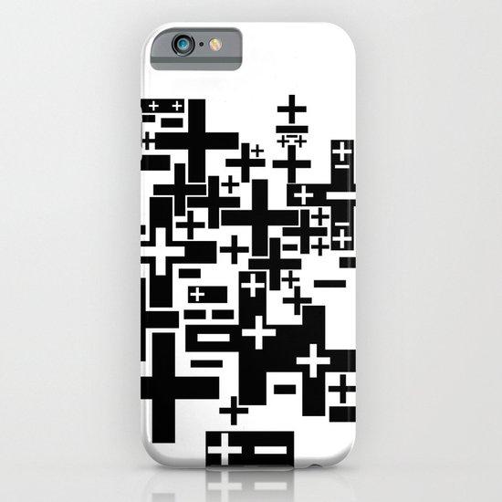 PLUS/MINUS iPhone & iPod Case