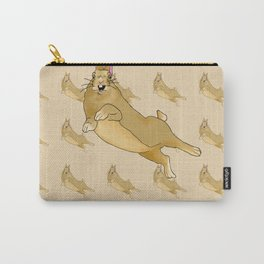 Butterscotch Binkie - Patterned+Main Carry-All Pouch