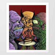The Last Piece Art Print