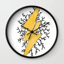 Static Quake Wall Clock