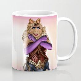 Miss Wonder Piggy Coffee Mug
