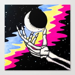 m00n n $tar$ Canvas Print