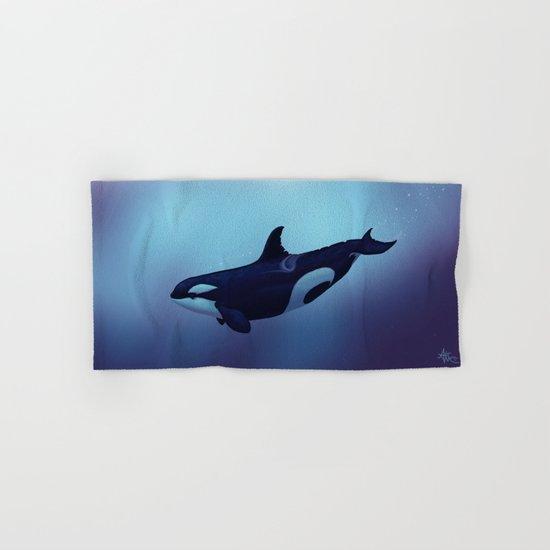 Lost in Fantasy ~ Orca ~ Killer Whale Hand & Bath Towel