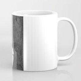 SINNER & SAINT  Forgive Them O My Father - Black n white Coffee Mug