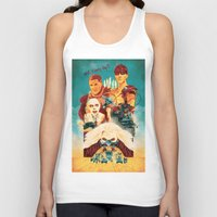 mad max Tank Tops featuring Mad Max by marclafon