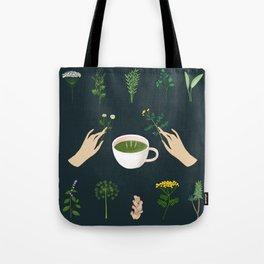 Magical Herbal Tea Tote Bag