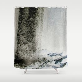 Water and Smoke Shower Curtain