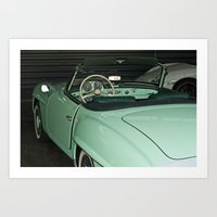 car Art Prints featuring Car by Vlad&Lyubov