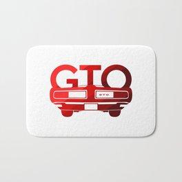 Pontiac GTO - classic red - Bath Mat