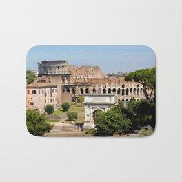 The Coliseum Rome Bath Mat