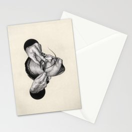 When Dali met Buñuel Stationery Cards