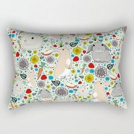 Bunny Rabbits Rectangular Pillow