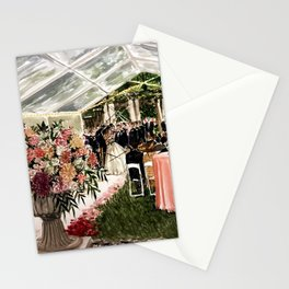 Casey & Davis Swan House Live Painting Stationery Cards