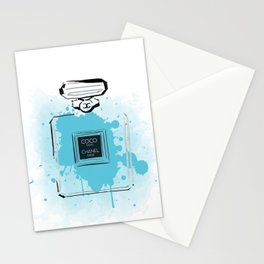 Blue Perfume #2 Stationery Cards