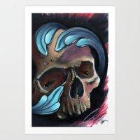 skulldealseventyone Art Print
