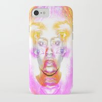 depression iPhone & iPod Cases featuring The Faces of Depression by Tobia St Germain