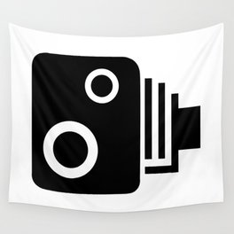 Isolated Speed Camera Wall Tapestry