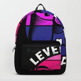 Leveled Up to Aunt Shirt Backpack