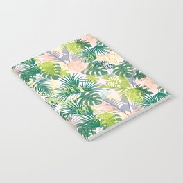 Pink jungle pattern Notebook