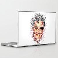 elvis Laptop & iPad Skins featuring Elvis  by Msimioni