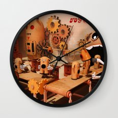 Toy Works Wall Clock