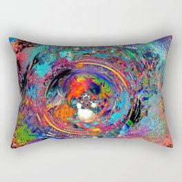 Torn at the Seams Rectangular Pillow