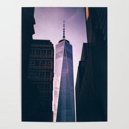 New York City One World Trade Center Poster