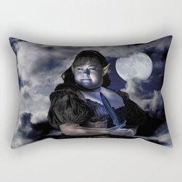 Warrior Elf Rectangular Pillow