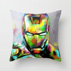 I am... Throw Pillow