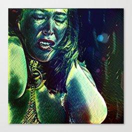 Olivia: Township Vampyre Canvas Print