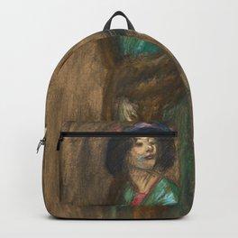 "Théophile Steinlen ""Sortie du theatre"" Backpack"